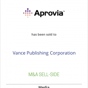 Aprovia has been sold to Vance Publishing Corporation