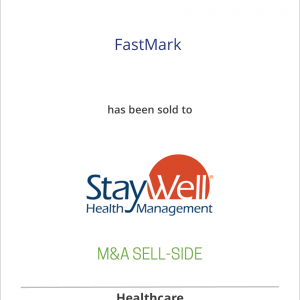 FastMark has been sold to StayWell Health Management