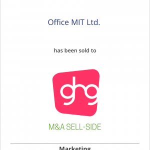 Office MIT Ltd. has been sold to Grey Healthcare Group Inc.