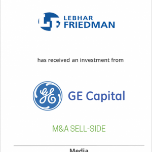 Lebhar-Friedman Inc. has received financing from GE Commercial Finance