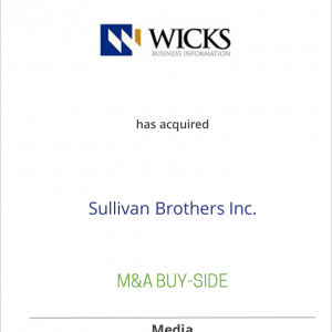 Wicks Sports Information has acquired Sullivan Brothers, Inc.