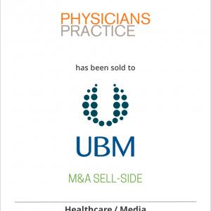 MESG LLC has sold Physicians Practice LLC to CMP Healthcare Media LLC, a subsidiary of UBM