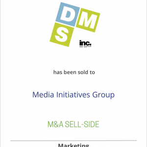 Dedicated Marketing Solutions has been sold to Media Initiatives Group