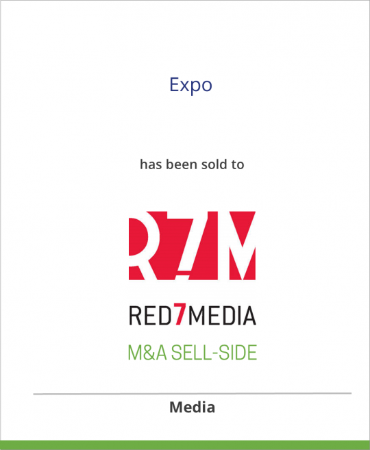 Ascend Media has sold Expo to Red7Media
