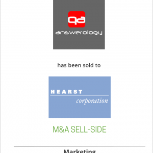 Answerology has been sold to Hearst Corporation