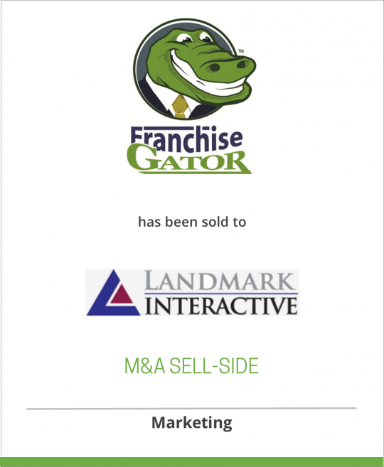 Microsoft has sold Franchise Gator to Landmark Interactive