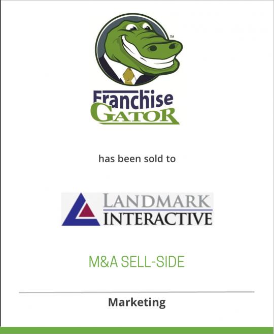 Microsoft has sold Franchise Gator to Landmark Interactive