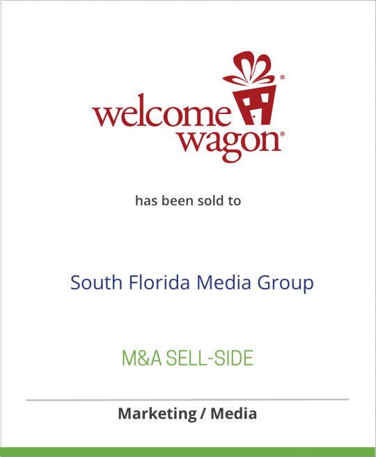 Move Inc. has sold Welcome Wagon to South Florida Media Group