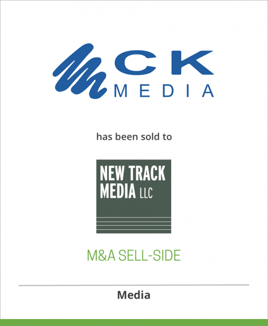 CK Media has been sold to New Track Media