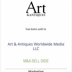 CurtCo Publishing LLC has sold Art & Antiques Magazine to Art & Antiques Worldwide Media LLC