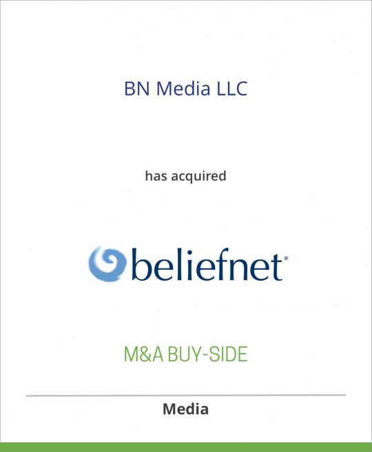 BN Media has acquired Beliefnet from Newscorp