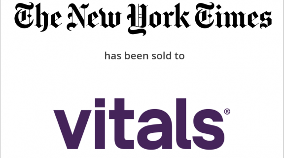 The New York Times Company has sold UCompareHealthCare.com to MDxMedical, Inc. (Vitals.com)