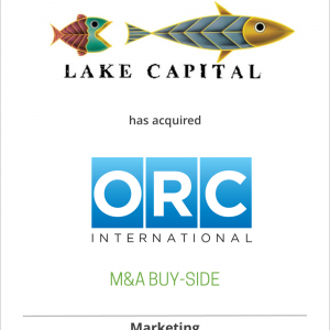 Lake Capital Management has acquired ORC International from Infogroup