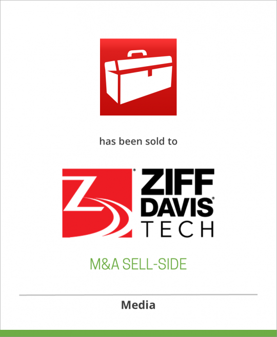 Toolbox.com has been sold to Ziff Davis