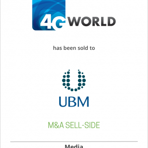 Yankee Group has sold 4G World to UBM TechWeb