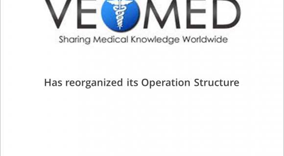 VeoMed LLC has reorganized its Operating Structure in preparation for a Series A financing