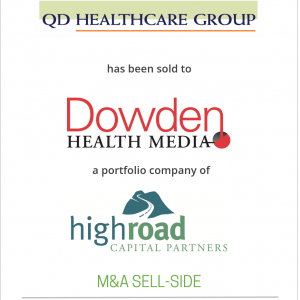 QD Healthcare group has been sold to Dowden Health Media