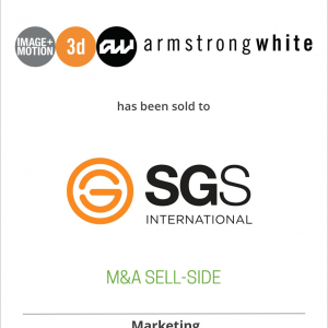 Armstrong White has been sold to SGS International Inc.