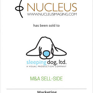 Nucleus Imaging has been sold to Sleeping Dog, Ltd.