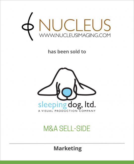 Nucleus Imaging has been sold to Sleeping Dog, Ltd.