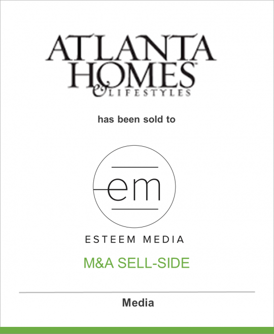 Network Communications Inc. has sold Atlanta Homes & Lifestyles and two events to Esteem Media
