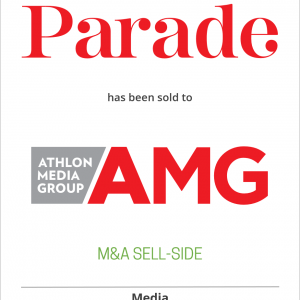 Parade Media Group, LLC has sold Parade and Dash magazines to Athlon Media Group
