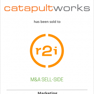 CatapultWorks has been sold to R2integrated