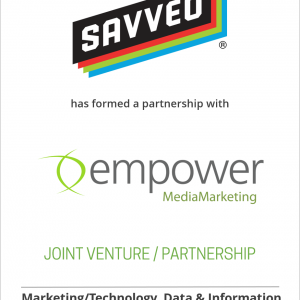 Savveo has formed a strategic partnership with Empower MediaMarketing