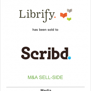 Librify Inc. has been sold to Scribd