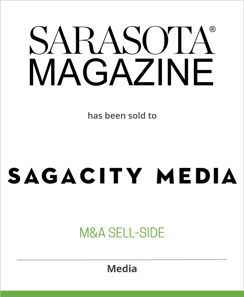 Sarasota Magazine has been sold to SagaCity Media