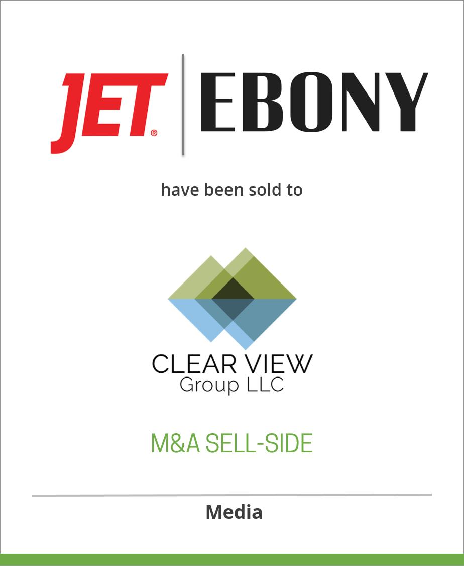 Johnson Publishing Company has sold EBONY Magazine, EBONY.com, and JetMag.com to Clear View Group, LLC.