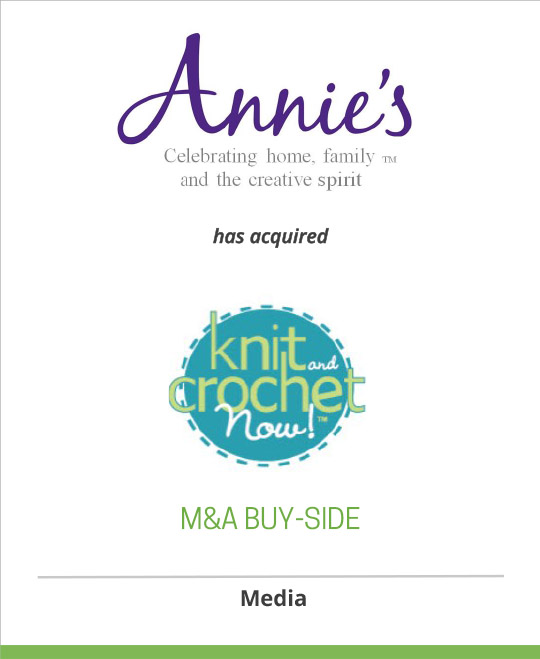 Annie's has acquired Knit and Crochet Now! from Candice Jensen Productions