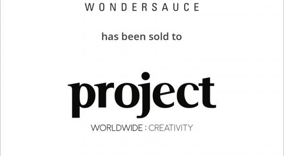 Wondersauce has been sold to Project: Worldwide