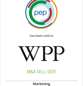 Promotion Execution Partners, LLC (pep) acquired by WPP