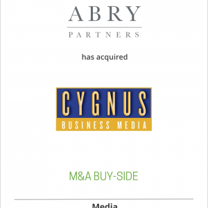 Commerce Connect Media, an affiliate of ABRY Partners, has acquired Cygnus Business Media, its 48 magazines and 16 trade shows