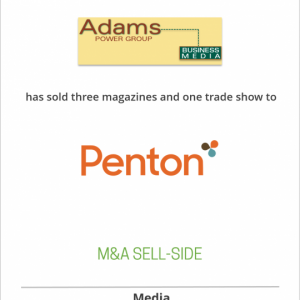 Adams Business Media has sold its Power Group to Intertec Publishing (Now Penton)