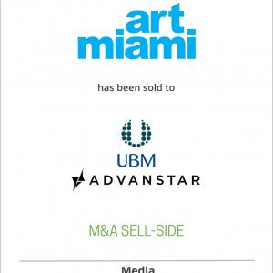 International Fine Art Expositions has sold ArtMiami to Advanstar Communications