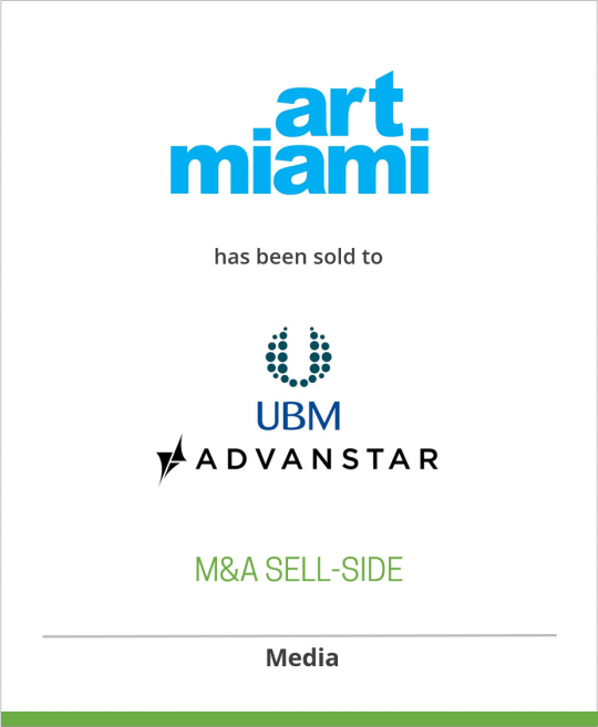 International Fine Art Expositions has sold ArtMiami to Advanstar Communications