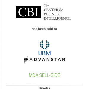 CBI Research, Inc. has been sold to Advanstar Communications Inc.