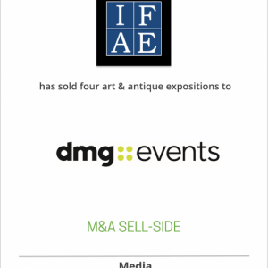 International Fine Art Expositions, Inc. has sold four art and antiques expositions to dmg World Media