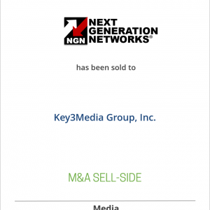 Next Generation Networks, other events and Business Communications Review have been sold to Key3Media Group
