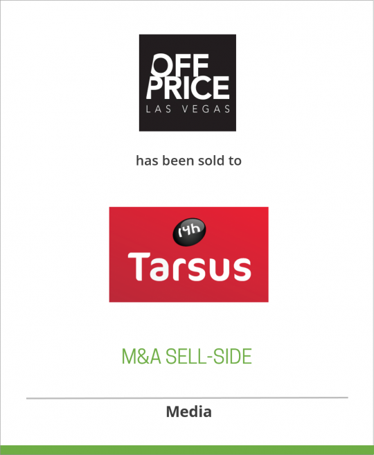 The Off-Price Specialist Show has been acquired by The Tarsus Group