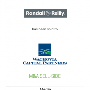 Randall Publishing Company has been acquired by Wachovia Capital Partners