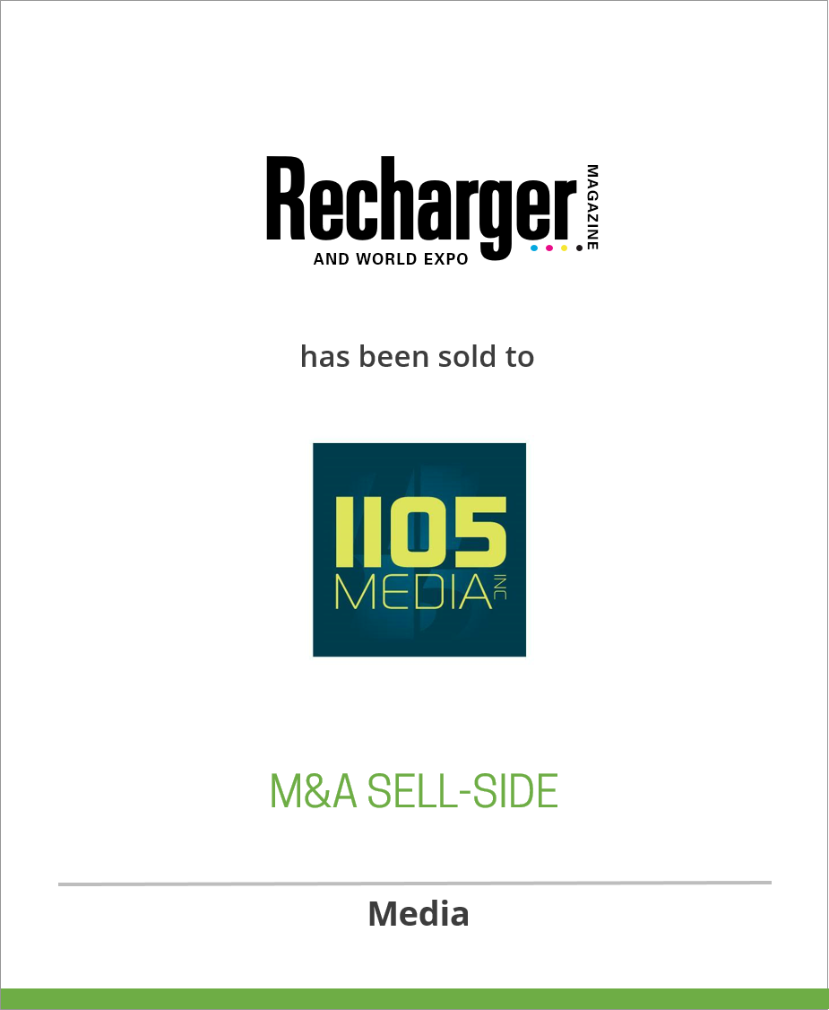 Recharger Magazine and Recharger World Expo have been sold to 101 Communications