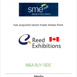 Society of Manufacturing Engineers has acquired seven trade shows from Reed Exhibitions Canada