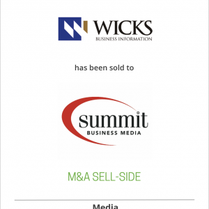 Wicks Business Information has been acquired by Summit Business Media