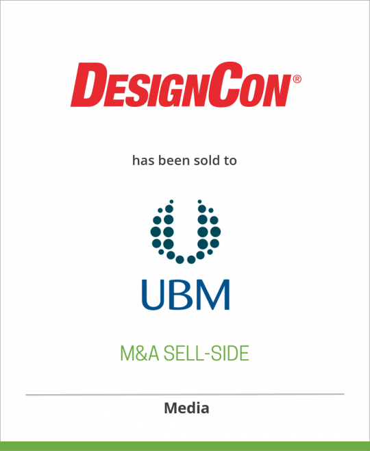 Professional Education International has sold DesignCon to EE Times Group, a wholly-owned subsidiary of United Business Media.