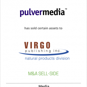 Pulvermedia has sold certain assets to Virgo Publishing