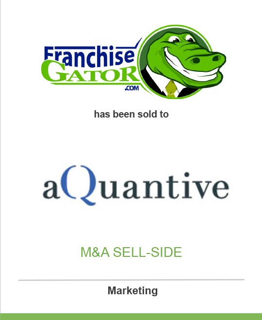 Franchise Gator has been sold to aQuantive