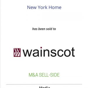 New York Home has been sold to Wainscot Media